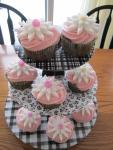 Spring Daisy Cupcakes