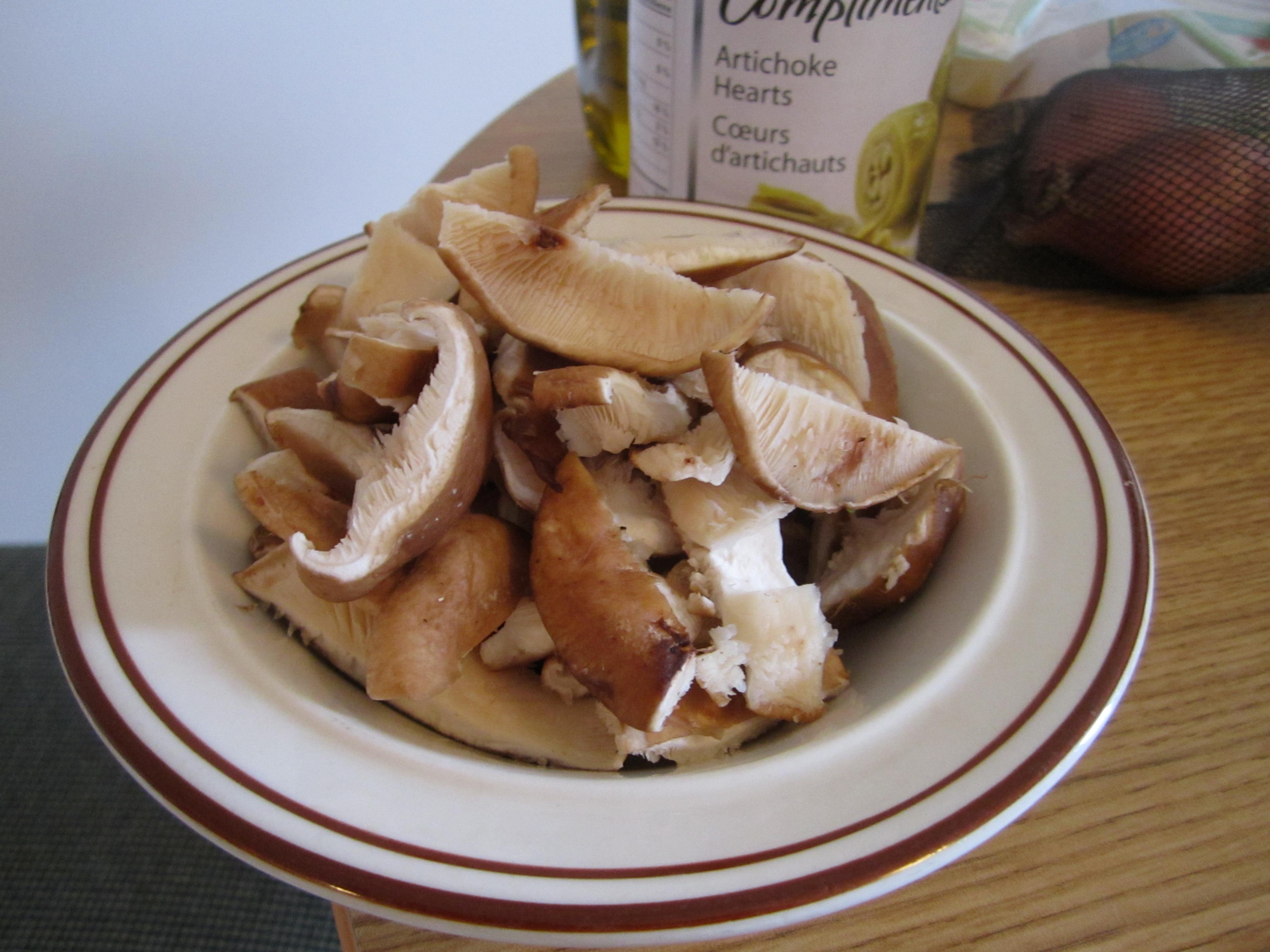 Asparagus, Artichoke and Shiitake Mushroom Risotto | Leslie the Foodie