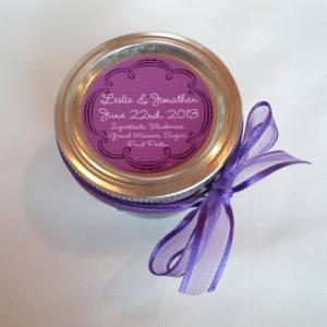 Wedding Favours Blueberry Grand Marnier Jam