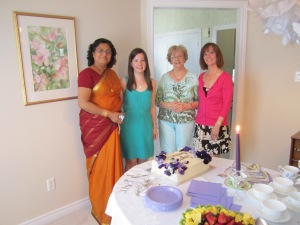 Future Mother-in-law, me, Gran, and Mom