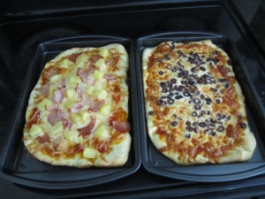 Pizza Hot out of the oven