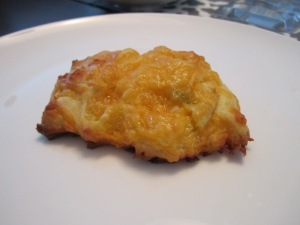 Brunch - Cheddar Chili Scones
