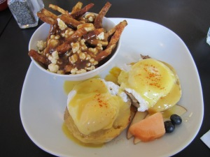 Eggs Benedict at Brooklyn Street Local -Detroit