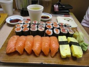 Sushi at Noble Fish - Detroit